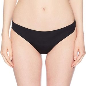 Bikini Lab Black Cinched Hipster Swim Bottom